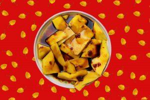 Indonesische Mango Rudjak