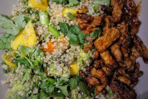 Sambal Tempeh met Quinoa