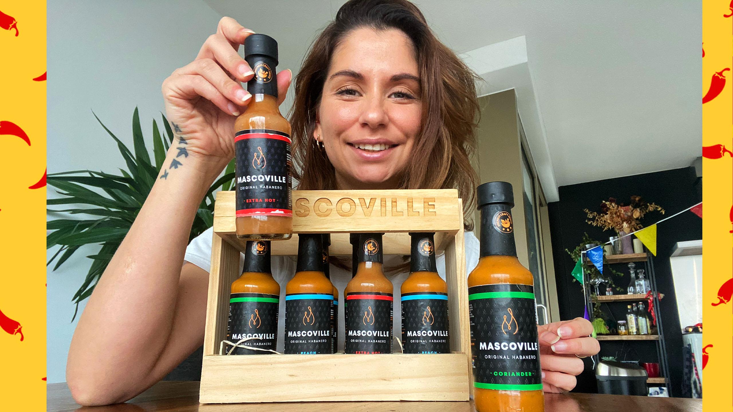 Zuid Afrikaanse Mascoville saus proeven!